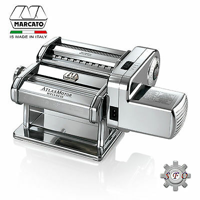 NEW Marcato Atlas Electric Pasta Machine Wellness Made in Italy RRP $444