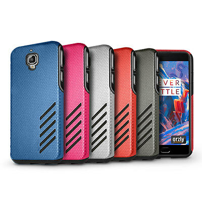 Orzly Grip-Pro Case Cover Shell Protection Armour for OnePlus 3 / OnePlus Three