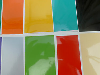 Tile Stickers Easy Fit Transfers Kitchen Bathroom Diy Your Choice Of Size Colour