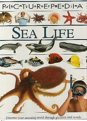 Picturepedia- Sea Life- Readers Digest - First Edition