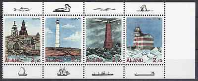 ALAND - 1992 - Lighthouses. Complete set, 4v. Mint NH