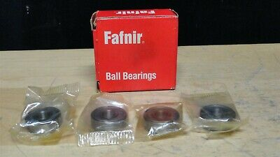 (4) NEW * FAFNIR SEALED Single Row Ball Bearing (Lot Of 4) (38KDD) * NEW in BOX