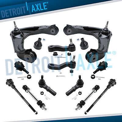 New 12pc Complete Front Suspension Kit for Chevrolet Silverado and GMC Sierra HD