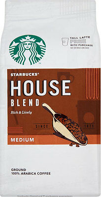 Starbucks House Blend Ground Coffee (200g)