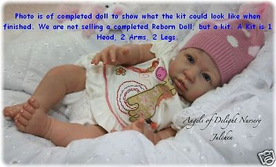 Reborn Doll Kit,  Julchen By Linde Scherer, Vinyl Doll Kit