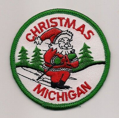 Souvenir Patch - Town Of Christmas, Michigan