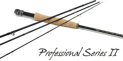 "Temple Fork Outfitters Professional Series Ii 9' 0"" 5 Weight 4 Piece Fly Rod+Bag"