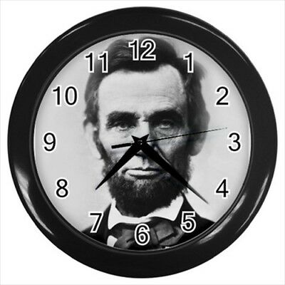 Abraham Lincoln Illinois Wall Clock