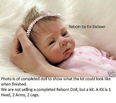 Reborn Doll Kit, Lucy, Linde Scherer, Real Feel Vinyl Kit