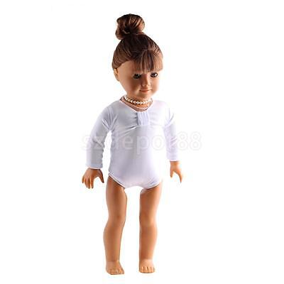 White Swimwear for 18INCH American Girl Journey Doll Summer Pool Party Dress