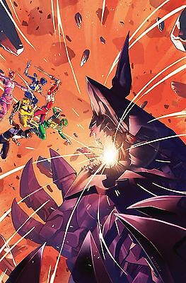 Mighty Morphin Power Rangers #4 Campbell Regular Cover Boom Comic