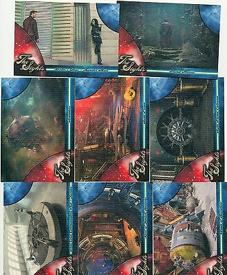 Guardians of the Galaxy The Sights Complete Set (8) S1-S8