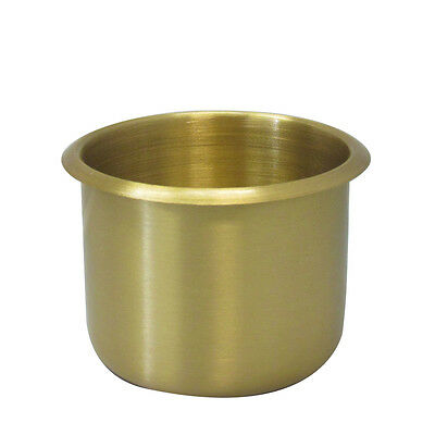 10Pcs Regular Size Poker Table Cup Holders Brass