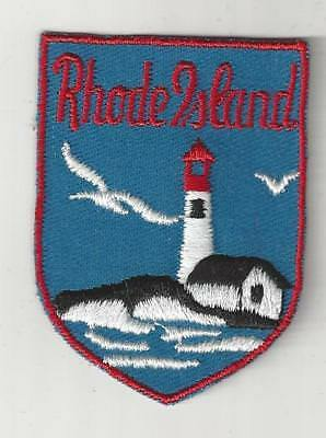 Souvenir Patch - State Of Rhode Island - Ocean State - Providence