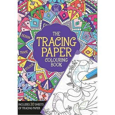The Tracing Paper Colouring Book French Buster Books Paperback 9781780553214