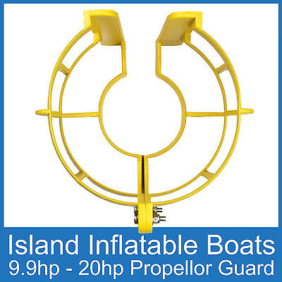 OUTBOARD PROPELLER GUARD Fits 9.9HP up to 20HP Motors. Boat Safety Protection