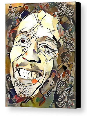 Framed Bob Marley Abstract 9X11 Art Print Limited Edition w/signed COA