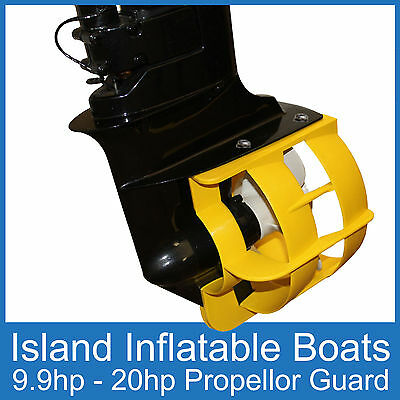 OUTBOARD PROPELLER GUARD ● Fits 9.9HP up to 20HP Motors ● Boat Safety Protection