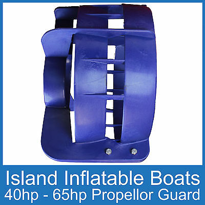 OUTBOARD PROPELLER GUARD  Fits 40HP up to 65HP Motors  Safety Boat FREE POSTAGE