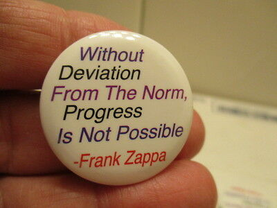 Lot Of 9 Frank Zappa Quote  Pin/buttons