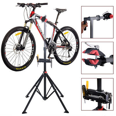 "Pro Bike 41""To 75""Repair Stand Adjustable W/Telescopic Arm Bicycle Rack"