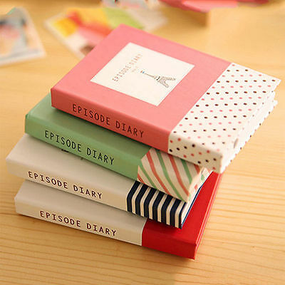 Sticky Notes Notebook Memo Pad Bookmark Paper Sticker Notepad Stationery Office