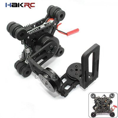 HAKRC Storm32 3 Axis Brushless Gimbal Lightweight Gopro3 Gopro4 FPV Fittings
