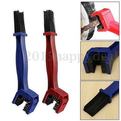 Bicycle Motorcycle Bike Chain Cleaner Dirt Remover Chain Cleaning Brush Tool New