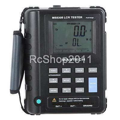 MASTECH MS5308 Portable Handheld LCR Meter 100Khz Serial/Parallel Tester