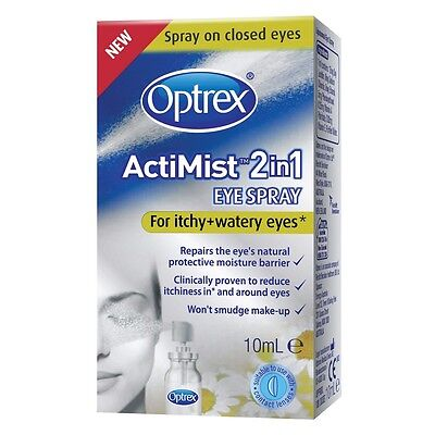 Optrex ActiMist™ 2in1 - For Itchy + Watery Eyes 10ml (0.34oz)