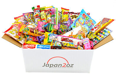 40 PIECE JAPANESE CANDY SET Gummy Ramune Ramen Jelly Chips Chocolate Snack