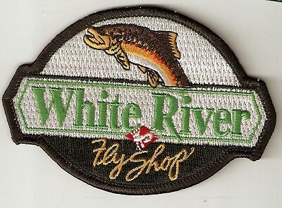 Souvenir Fishing Patch - White River, Fly Shop