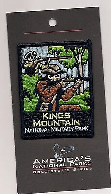 Souvenir Patch - Kings Mountain National Military Park, South Carolina