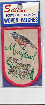 Souvenir Travel Patch - State Of Maryland
