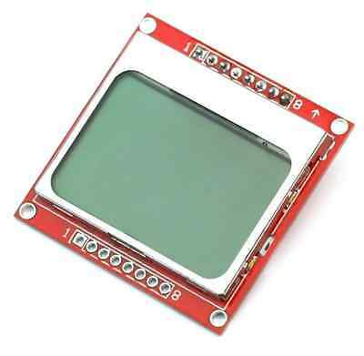 1PCS 84*48 84x48 LCD Module White Backlight Adapter PCB for Nokia 5110 Arduino