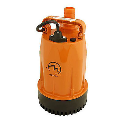 """Magnum - Submersible Dewatering Pump 1.25"""", 1/4HP, 120v, 37GPM (MSD1021)"""