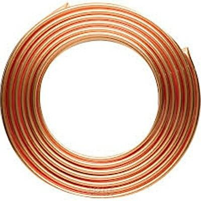NEW CHEAP 8mm Copper Tube Pipe GAS/WATER/DIY/OIL 10 METRES *CHEAPEST ON EBAY*