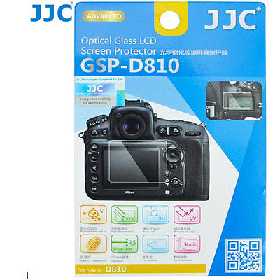 JJC GSP-D810 Optical GLASS LCD Screen Protector Film for Nikon D810 D810E 9H