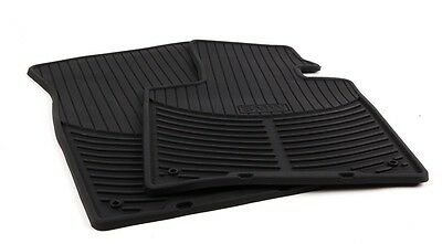 BMW Genuine Rubber Floor Mats for E85 Z4 Fronts 1st Row # 82550151191
