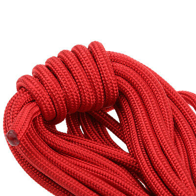 Tree Rigging Carving Rock Climbing Safety Auxiliary Rope 10M Rappelling Gear