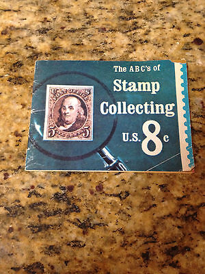 THE ABC'S OF STAMP COLLECTING , Vintage Collector Booklet 1974,  30 pages