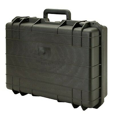 T.Z. Case Cape Buffalo Water-Resistant Utility Case Black