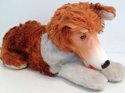 Vintage Reliable Toy Canada Stuffed Animal Dog Lassie Border Collie