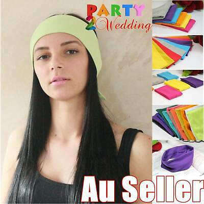 Sports Yoga Gym Stretch Cotton Headband Head Hair Band Armband Girls Women Kids