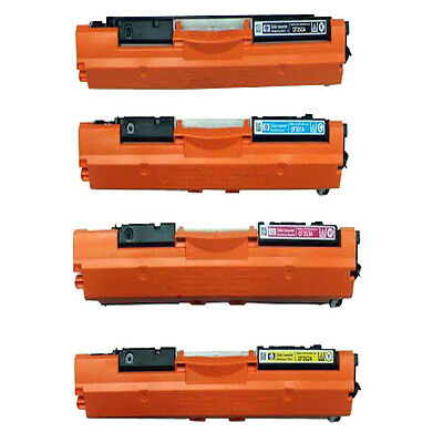 4 Compatible Toner Cartridge For HP 130A CF350A CF351A CF352A CF353A
