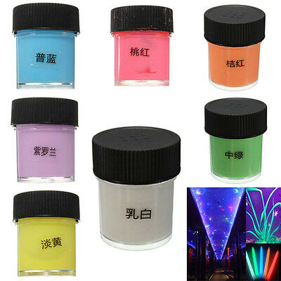 10ml Acrylic Luminous Party DIY Bright Glow in the Dark Paint Pigment Graffiti