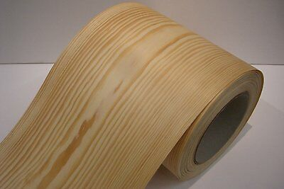 Real wood Veneer Pine with Hot melt adhesive iron-on 30 cm Wide