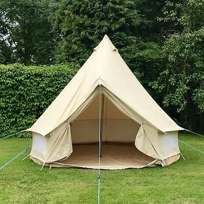 3 Metre 100% Canvas ZIG Bell Tent By Bell Tent Boutique.