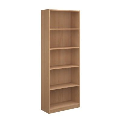 Office Bookcase in Beech...Reduced To Clear - Dams Bookcase BC
