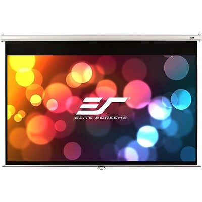 NEW Elitescreens M150XWH2 Projection Screen 150in White Cased Scre M150XWH